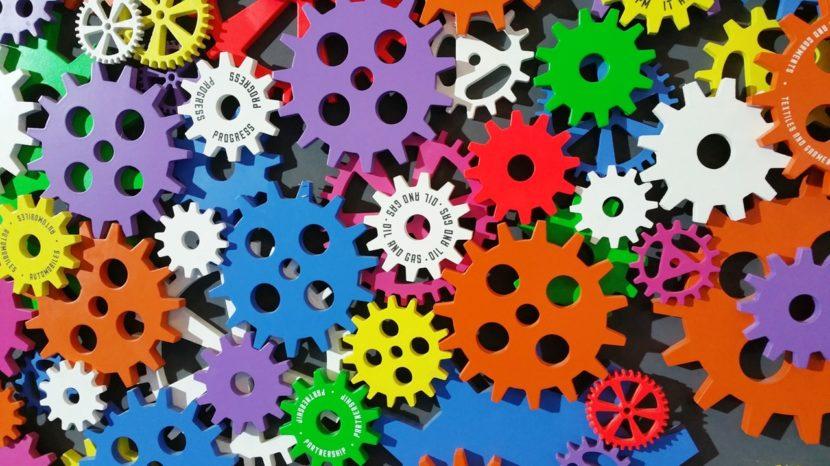 Ingranaggi colorati