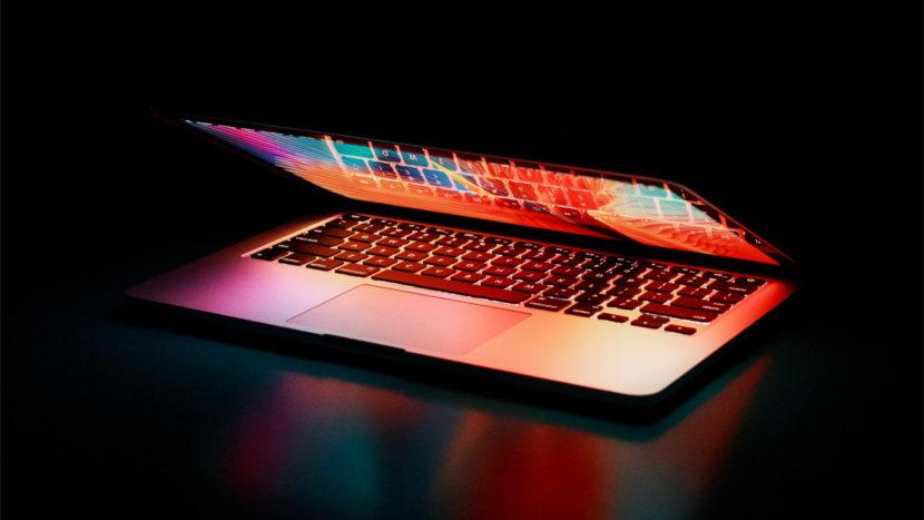 Laptop a colori